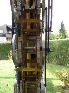 Bremsanlage von unten