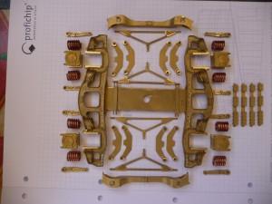 Bausatz auf 5mm Rasterpapier
